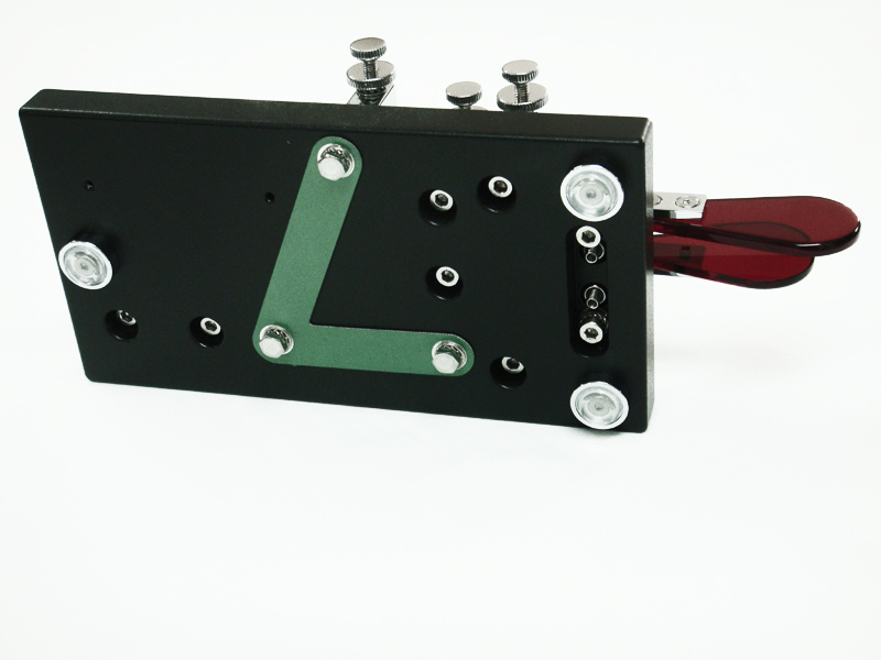 Semiautomatic Double Lever Magnetic Evolution BlackBase