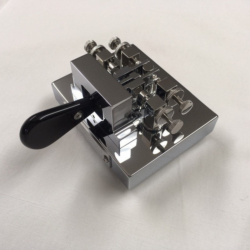 Single Lever Paddle Chrome Deluxe With Magnetic Return Key