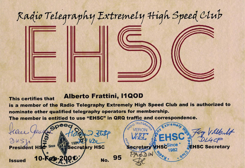 EHSC Radio Telegraphy