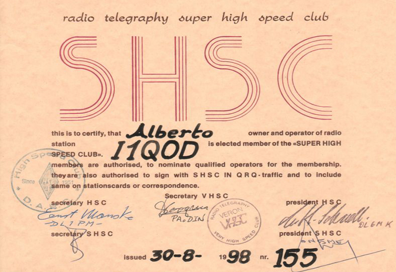 SHSC Radio Telegraphy