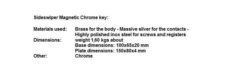 SIDEWIPER MAGNETIC CHROME